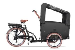 Vogue Troy E-bike Bakfiets 7 Dr  Brown  0000